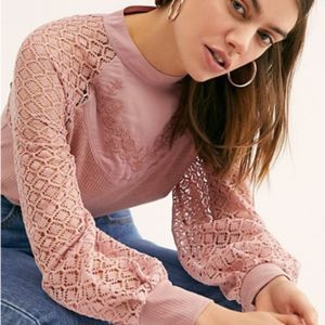 """Free People """"Sweetest Thing Thermal Top""""  small"""